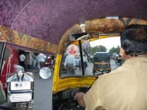 rickshaw in bombay
