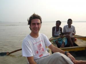 Alex fait du bateau