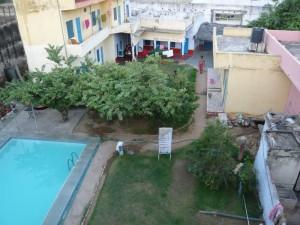 Narayan guest-house vue du toit