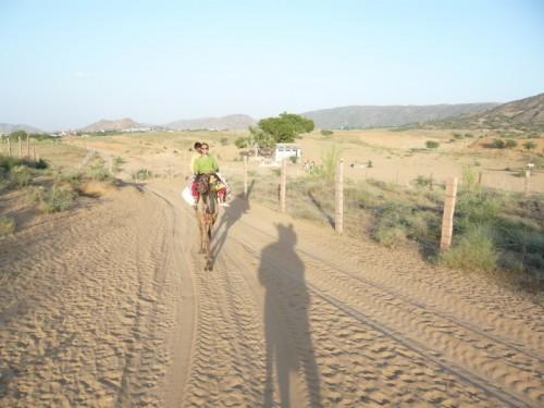 Jimmy, Raju (mon guide) et moi