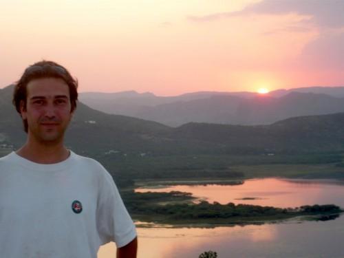 Encore moi et le coucher de soleil !!!!