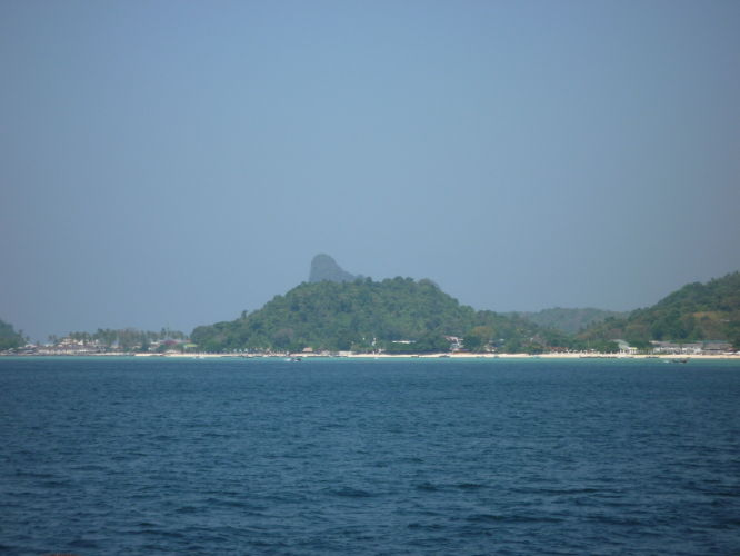 La baie de Ton Saï coté hotel
