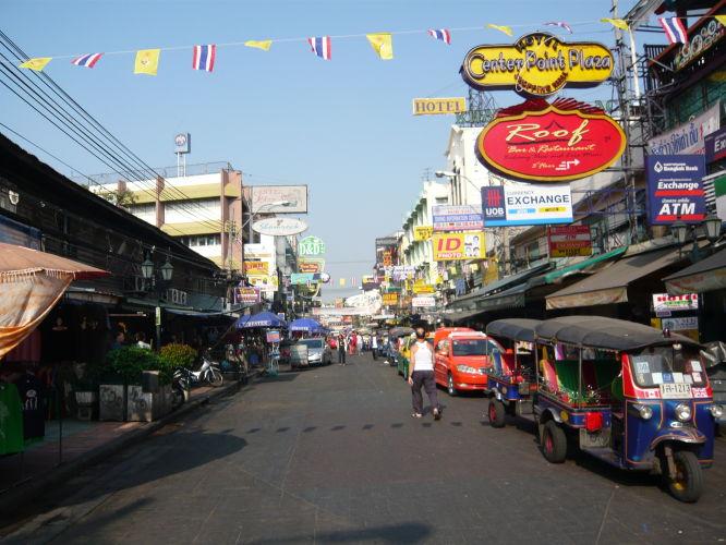 khao San Road au petit matin