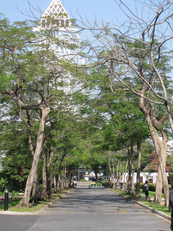 l'entrée du Sukhothaï !