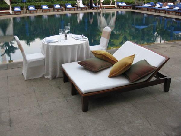 La piscine de l'hôtel !