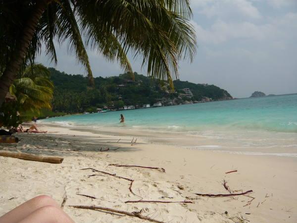 bronzette sur la plage !!