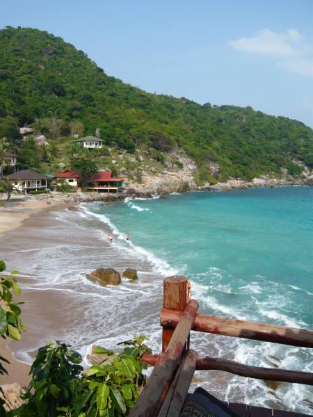 la plage Ao Leuk