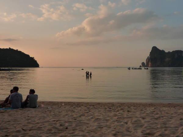La plage de Phi-Phi