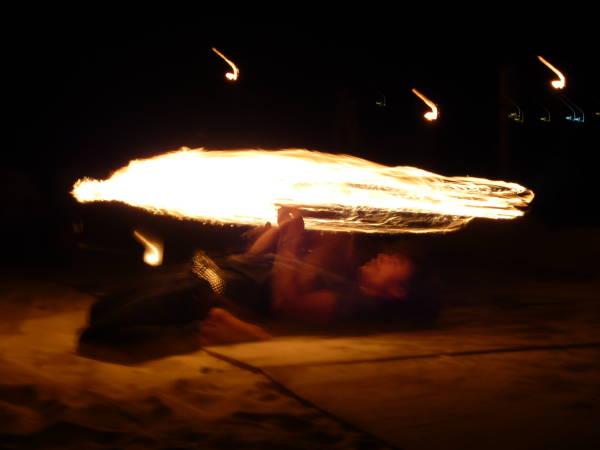 fire show !