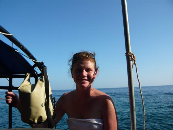 Philou se ballade en bateaux direction Maya Bay !!