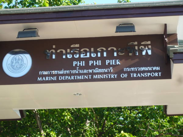 arrivée à Koh Phi-Phi