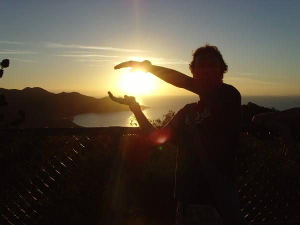 Le soleil entre mes mains !!!