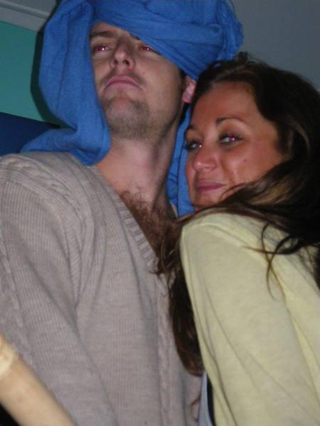 Dave et Emi mes collocs au top de leurs forme!