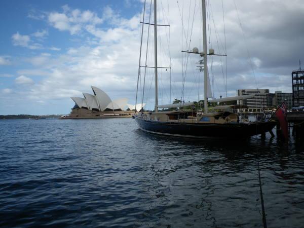 Sydney Opéra House pour ceux qui ne l'aurais pas reconnu !