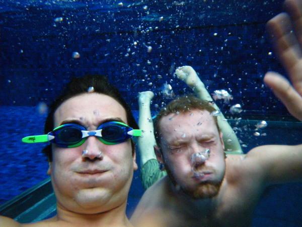 Séance piscine avec fred dans la piscine la plus luxe de sydney !