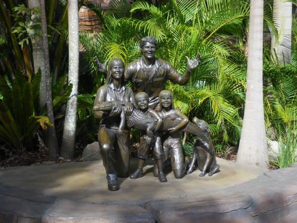 steve Irwin et sa famille