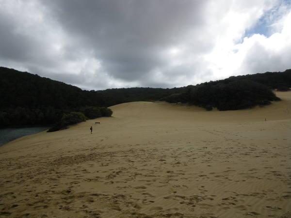 Et sa dune de sable !