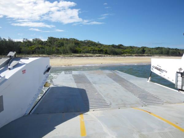 Une dernière vue de Fraser Island !