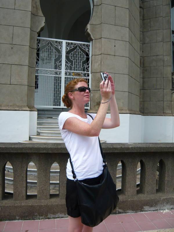 Philou en vraie touriste !