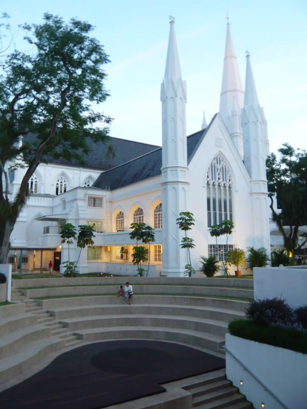 la cathédrale de singap