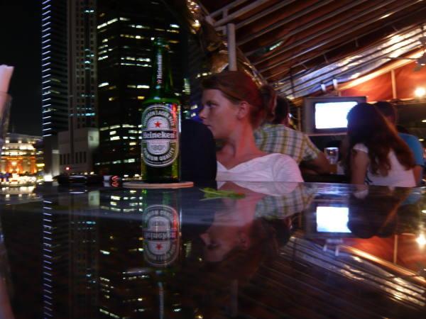 une petite bière en terrasse !!